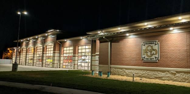 Columbus Ne Fire Station